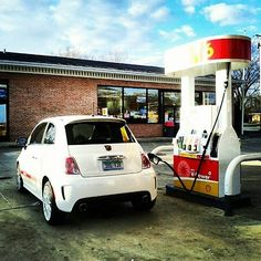 Even Fiat needs a sip now and then...