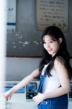 - Naver X Dispatch in Japan for YOLO Jacket Photoshoot Kpop Girl Groups, Korean Girl Groups, Kpop Girls, Korean Beauty, Asian Beauty, Jung Chaeyeon, Pretty Females, Ioi, Korean Celebrities
