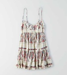 AEO Patterned Babydoll Dress