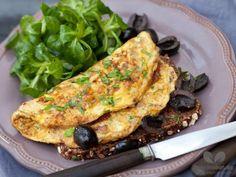 Pikantes Omelett mit Oliven copyright: Kochabo.de