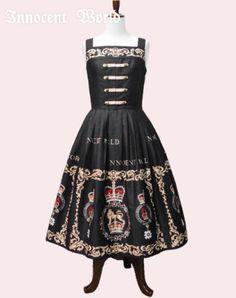 Innocent World エリザベスWボタンジャンパースカート