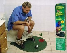Toilet Mini Golf $17.13