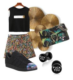 """""""braadworst"""" by julieschipper ❤ liked on Polyvore featuring Arteriors, Chicnova Fashion, adidas and Gucci"""
