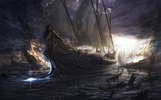 Black death ships