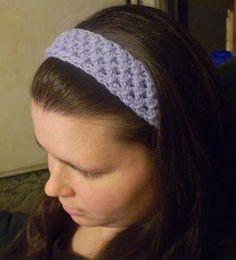 Knit Headband free pattern