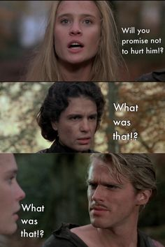 The only time Wesley and Humperdink were on the same page! Love The Princes… The only time Wesley and Humperdink were on the same page! Love The Princess Bride! Tv Quotes, Movie Quotes, Lyric Quotes, Princess Bride Quotes, The Princess Bride, Movies Showing, Movies And Tv Shows, Movie Lines, Great Movies