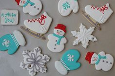 winter cookies | Flickr - Photo Sharing
