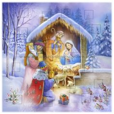 advent calendar images for licensing