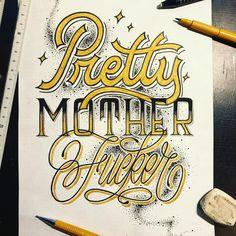 """534 Me gusta, 7 comentarios - Stefan Kroezen (@typo_steve) en Instagram: """"Pretty Motherfucker 💅🏻"""""""