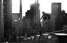 urban skateboarding!