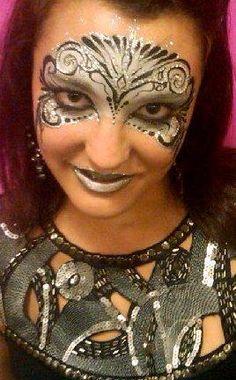 DIY Halloween Makeup : Mardi Gras and Masquerade Masks Parties are great fun!