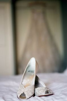 Cutest Flat Wedding Shoes for the Love of Comfort and Style - Shoes: Stuart Weitzman | Photography: Ashley Garmon Photographers