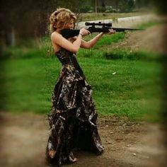 oh yes. love the camo dress and I want a prom photo like it