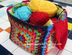 Magia do Crochet: Julho 2011