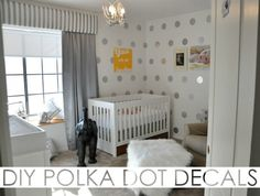 DIY Polka Dot Wall D