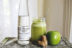 Apple Ginger Cocktail | A Beautiful Mess