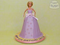 Custom cakes made in Cheshunt Barbie Cake, Custom Cakes, How To Make Cake, Aurora Sleeping Beauty, Disney Princess, Personalized Cakes, Personalised Cake Toppers, Disney Princesses, Disney Princes