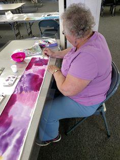 Painting Classes, Silk Painting, Student Work, Hand Painted, Decor, Art, Decorating, Craft Art, Kunst
