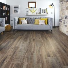 Karndean Designflooring -LooseLay Series - Hartford wood plank - quiet, durable, and beautiful