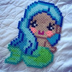 Mermaid perler beads by merrmaidchild