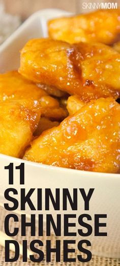 You can make these Chinese dishes SKINNY! #JamiesCleanEatingrecipes