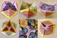 Ogni disegno permette infinite possibilità di combinazioni cromatiche! Libera la tua creatività esperimentando con i tuoi materiali e colori preferiti. Mandala Coloring Pages, Colouring Pages, Paper Toys, Hand Painted Ceramics, Fun Activities, Customized Gifts, Art Projects, Arts And Crafts, Art Prints