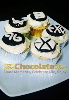 KPOP Cupcakes  AVAILABLE KPOP GROUPS: INFINITE, BIGBANG, BAP, EXO.  ANY KPOP GROUP IN MIND? WE CUSTOMIZE!  WE CAN ALSO CATER KPOP CONVENTIONS AND FANCLUB MEETINGS! <3  Our website is now officially open! :) http://ecksthechocolatier.wix.com/thechocolatelove Please do check us out! ♥  find us on facebook! www.facebook.com/theoriginalchocolatelove   for inquiries, FAQS and other information about The Chocolate Love:  please text: Ecks - +639061750337