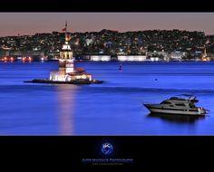 """Maidens Tower (Kız Kulesi - ISTANBUL)"" by Alper Mandalik, via 500px."