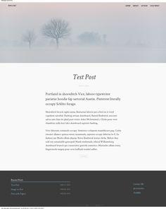 minimal webdesign inspiration