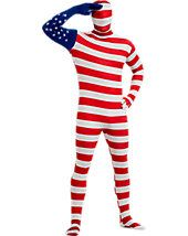 Get exciting with USA Flag Skin Suit Adult Costume. Get Ideas of Patriotic Costumes for July, Halloween at PartyBell. Costumes Sexy Halloween, Patriotic Costumes, Adult Costumes, Adult Halloween, Patriotic Clothing, Blue Costumes, Haunted Halloween, Pirate Costumes, Funny Halloween