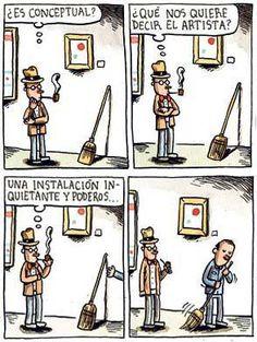 Historietas de Liniers para reir y reflexionar.