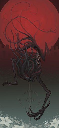 Moon Presence (Bloodborne) by b4dly-dr4wn