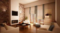 Φωτορεαλιστικό Μοντέλο co.creations. φωτορεαλισμοί  | fotorealismos | 3D Interior Design Modeling of a Photorealistic Living Room.