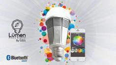 Tabu Lumen, la lampadina Bluetooth che comandi dallo smartphone