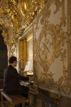 """Concert à la Chapelle Royale """"Un Noël baroque français"""" à Versailles. Plus d'infos : http://www.chateauversailles.fr/…/un-an-…/un-an-a-versailles © EPV / Christian Milet"""