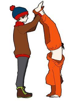 South Park Anime Kenny X Stan