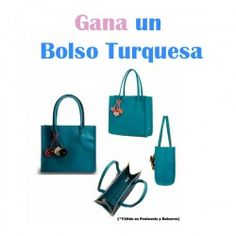 Gana un #Bolso Turquesa ^_^ http://www.pintalabios.info/es/sorteos-de-moda/view/es/4790 #ESP #Sorteo #Moda