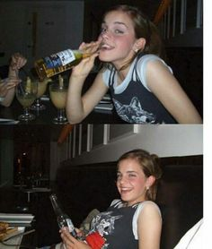 Drunk Moments Of Celebrities Crazy Photos) - We got Emma Watson here also Harry Potter Gif, Harry Potter Curses, Magia Harry Potter, Mundo Harry Potter, Theme Harry Potter, Harry Potter Wallpaper, Harry Potter Pictures, Harry Potter World, Harry Potter Characters