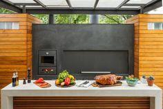 Grills Perfect For Braai Day Apartamento Loft Industrial, Industrial Loft, Parrilla Interior, Ideas Terraza, Built In Braai, Outdoor Kitchen Design, Bbq Grill, Barbecue, Architecture