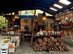 The wood-burning stove at Hartwood (Photograph courtesy Hartwood Restaurant)