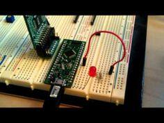 XMOS XDIP1 - Multi-core Development Board - YouTube
