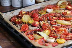 Tomatensauce aus dem Ofen und mein liebstes Pizzateigrezept – Dreierlei Liebelei