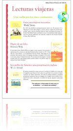 Guía de Lectura sobre novelas de viajes