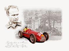 Juan Manuel Fangio - GP Monaco 1950