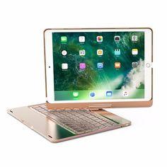 360 Degree Rotation For iPad Pro Keyboard Case Wireless Bluetooth LED Backlit Funda for iPad Pro Keyboard Cover Ipad Pro, Mac Book, Iphone 8, Coque Ipad, Keyboard Cover, Samsung, Bluetooth Keyboard, Apple Ipad, Ipad Mini