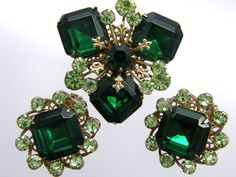 Ecochic Vintage Rhinestone Treasures by Gretchen on Etsy
