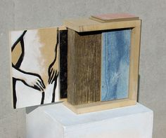 "Gisela Glucker, ""Soul Sisters 2"", Dispersion auf Holz"