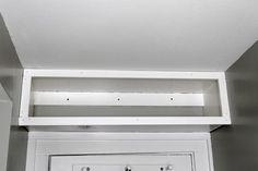 A small bathroom adds some extra storage in an unused space. Small Bathroom Storage, Bathroom Shelves, Bathroom Medicine Cabinet, Bathroom Ideas, Home Organization, Organizing, Studio Room, Home Reno, Painting Studio
