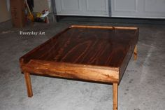Everyday Art: DIY Train Table  Great step by step instruction for a really sturdy play table!