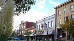 Planners name Ladysmith, B.'s First Avenue as best street in the country - British Columbia - CBC News Interesting Buildings, Building Facade, Surrey, British Columbia, Great Places, Vancouver, Bing Images, Street View, Canada